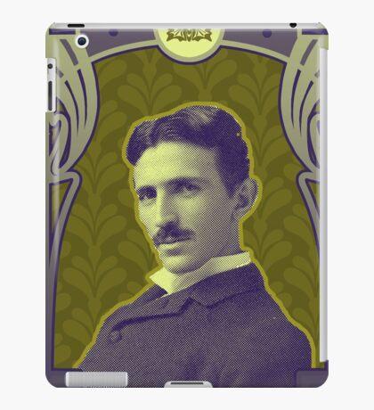 Nikola Tesla's Electric Mind iPad Case/Skin