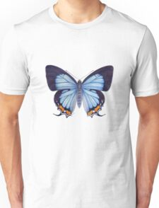Imperial Blue Butterfly Unisex T-Shirt