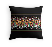 Abstract barbwire  Throw Pillow