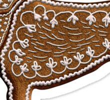 Chinese Zodiac Gingerbread Dog Sticker