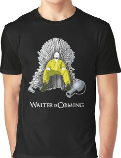 Breaking Bad - Walter is Coming Graphic T-Shirt