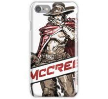 OVERWATCH MCCREE iPhone Case/Skin
