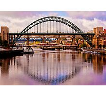 Newcastle Bridges Photographic Print