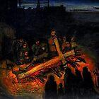 burning cross by glennbrady