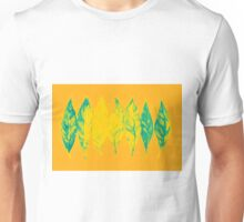 Colorful watercolor painting of autumn leaves Unisex T-Shirt