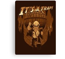 It's a trap! Canvas Print