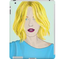 Blonde Ambition - Gorgeous Blonde Woman Illustration iPad Case/Skin