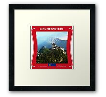 Liechtenstein - A Microstate Of Distinction Framed Print