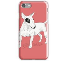 Cool Bull Terrier Doodle iPhone Case/Skin