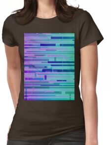 Gradient Glitch #57 Womens Fitted T-Shirt