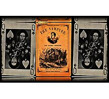 byron and the queen of hearts Photographic Print