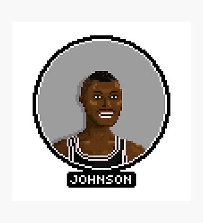 Avery Johnson - Spurs Photographic Print