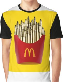 Bullet Fries Graphic T-Shirt