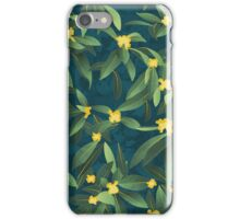 Loquat medlar tree in Autumn I iPhone Case/Skin