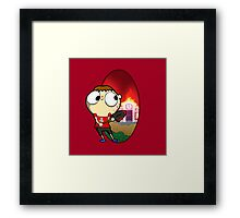 There's a new mayor in town. Framed Print