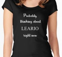 Thinking about Leario Women's Fitted Scoop T-Shirt