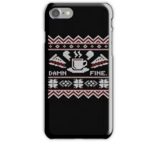 Pizza Beer Ugly Christmas Sweater T-Shirt, Men Women Gift iPhone Case/Skin