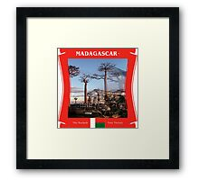 Madagascar - The Baobob Tree Thrives Framed Print