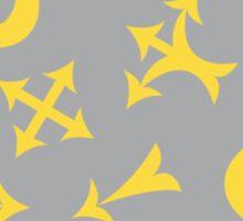 Yellow arrows Sticker