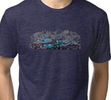 Nostalgia Carpark Tri-blend T-Shirt