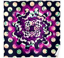 Abstract,fun,contemporary,art,pattern Poster