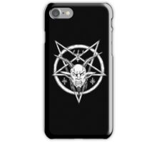 Goatlord Logo Black iPhone Case/Skin