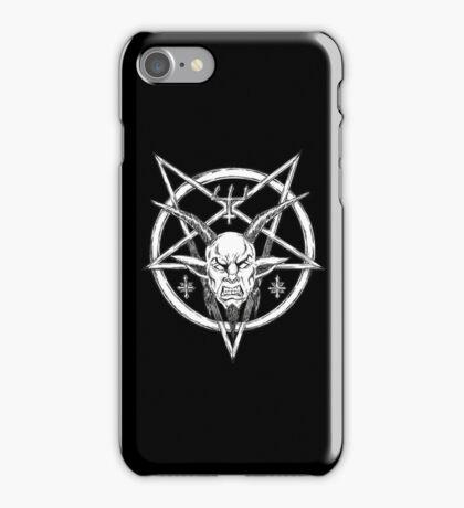 Goatlord Logo Black iPhone Case/Skin