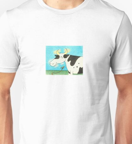 The Es-Cow-Pades of Miss Moogooley Oogooley! Unisex T-Shirt