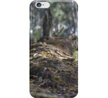 Fallen Log HDR iPhone Case/Skin