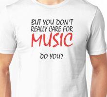 Leonard Cohen Hallelujah Music Quotes Unisex T-Shirt