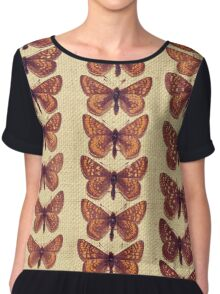 The Butterfly Collection 7 Chiffon Top