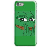 Smiling Pepe iPhone Case/Skin