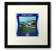 Martinique - The Island Of Flowers Framed Print