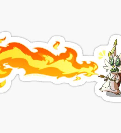Team Element: Gone Awry Sticker