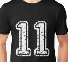 Sport Team Jersey 11 T Shirt Football Soccer Baseball Hockey Double Basketball Eleven One 1 1 Unisex T-Shirt
