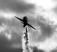 Red Arrows Monochrome by Mattyboy2154