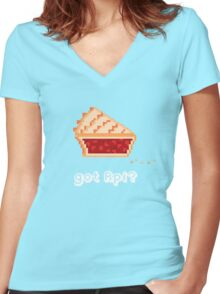 Got rPi? Women's Fitted V-Neck T-Shirt
