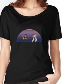 Wolverine v Ryu Women's Relaxed Fit T-Shirt