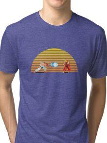 Ryu v Ken Tri-blend T-Shirt