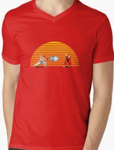 Ryu v Ken Mens V-Neck T-Shirt