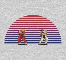 Ken v Ryu by Jackson Chung