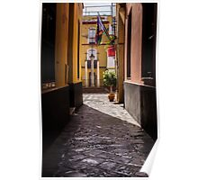 Streets of Seville - Calle de las Cruces Poster