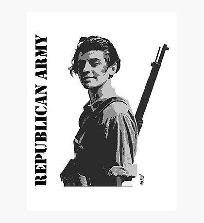Republican Army Photographic Print
