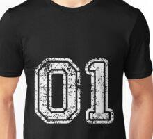 Sport Team Jersey 01 T Shirt Football Soccer Baseball Hockey Double Basketball Zero One 1 Unisex T-Shirt