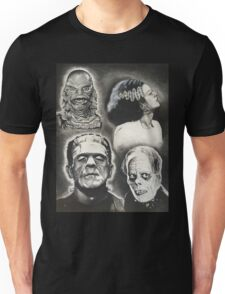 Classic Universal Monsters Unisex T-Shirt
