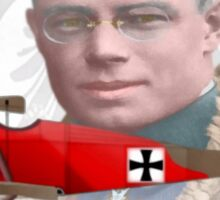 Leutnant Fritz Bernert Sticker