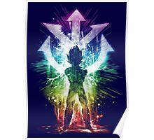 super sayan - rainbow version Poster