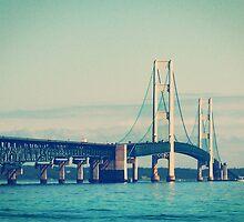 Mackinac Bridge by Phil Perkins