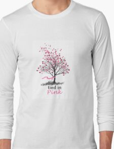 Tied in Pink Anthology merchandise Tee Shirts Long Sleeve T-Shirt