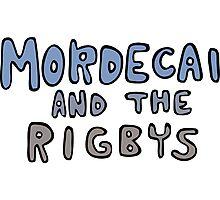 Mordecai and the Rigbys Photographic Print